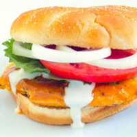 Buffalo Chicken Sandwich: Main Image