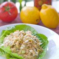 Garden Tuna Salad with Olives: Main Image