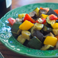 Roasted Ratatouille: Main Image