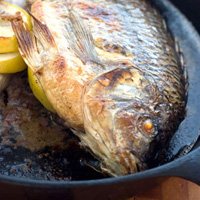 Whole Broiled Tilapia: Main Image