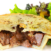 Holiday Lamb Pie: Main Image