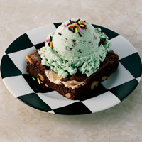 Ice Cream Brownie Sundae: Main Image