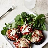 Eggplant Pizzas: Main Image