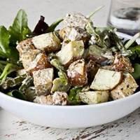 Roasted Tofu Potato Salad: Main Image