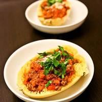 Spaghetti Squash Bolognese: Main Image