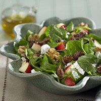 Apple Salad with Candied Bacon and Goat Cheese: Main Image