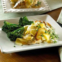 Grilled Chicken with Apples and Feta: Main Image