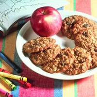 Oat-Raisin Applesauce Cookies: Main Image