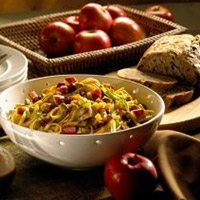 Pasta Salad with Grilled Chicken, Apples, and Cheddar: Main Image