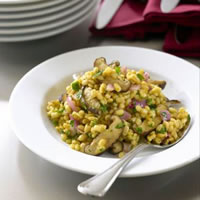 Barley and Mushroom Salad: Main Image