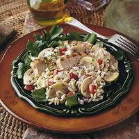 Chicken Orzo Salad: Main Image