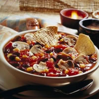 Hearty Fresh Mushroom Chili: Main Image