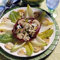 Kaleidoscope Mushroom Salad: Main Image