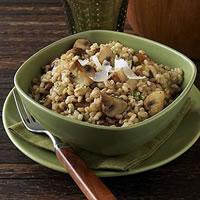 Mushroom Barley Risotto: Main Image