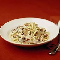 Mushroom Profusion Pasta: Main Image