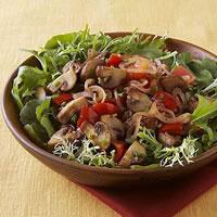 Saut�ed Mushroom Salad: Main Image