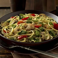 Super Mushroom Veggie Pasta: Main Image