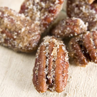 Candied Spiced Pecans: Main Image
