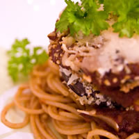 Healthy Eggplant Parmesan (and other Ways with Roasted Veggies!): Main Image