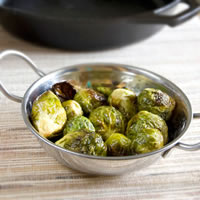Honey Dijon Roasted Brussels Sprouts: Main Image