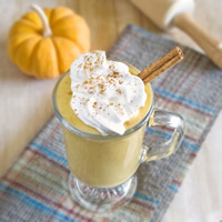 Vegan Pumpkin Pie Shake: Main Image