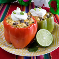 Tamale Stuffed Peppers: Main Image