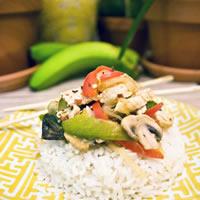 Thai Style Chicken Basil Stir Fry: Main Image