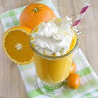 Vegan Orange Creamsicle Shake: Main Image