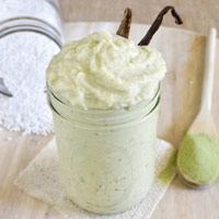 Vegan Vanilla Green Tea Tapioca Pudding: Main Image