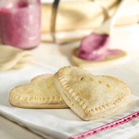 White Chocolate Cherry Hand Pies: Main Image