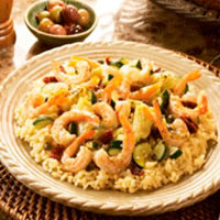 Mediterranean Shrimp Scampi: Main Image