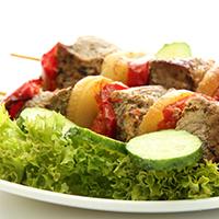 Mediterranean Herbed Lamb Kabobs: Main Image