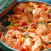 Mexican Shrimp Pilaf: Main Image