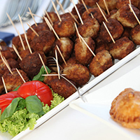 Moroccan Lamb Cocktail Meatballs: Main Image