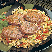 Asian Beef Steaks & Noodles: Main Image
