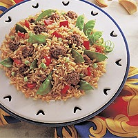 Beef & Vegetable Fried Rice: Main Image