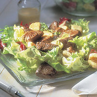 Beef Tenderloin Dijon Salad: Main Image