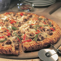 Cheese Steak Pizza: Main Image