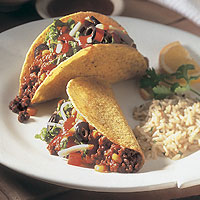 Confetti Beef Tacos: Main Image