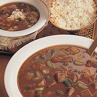 Creole-Flavored Beef Soup: Main Image