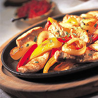 Pepper-Lime Veal Fajitas: Main Image