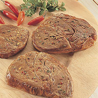 Quick &amp;amp; Spicy Beef Chuck Steaks: Main Image