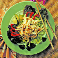 Barbecued Thai Chicken Salad: Main Image