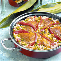 Island Chicken Paella: Main Image