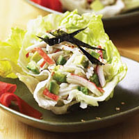 master.k.m.us.NFI Alaska Surimi Seafood Lettuce Cups Taste of the Season
