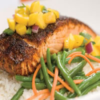 Blackened Salmon: Main Image