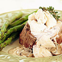 Chesapeake Filet with Cream of Crab Soup: Main Image