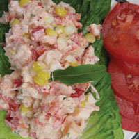 Confetti Lobster Salad: Main Image