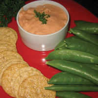 Festive Shrimp Cocktail Dip: Main Image