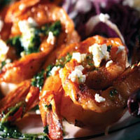 Grilled Mediterranean-Style Shrimp: Main Image